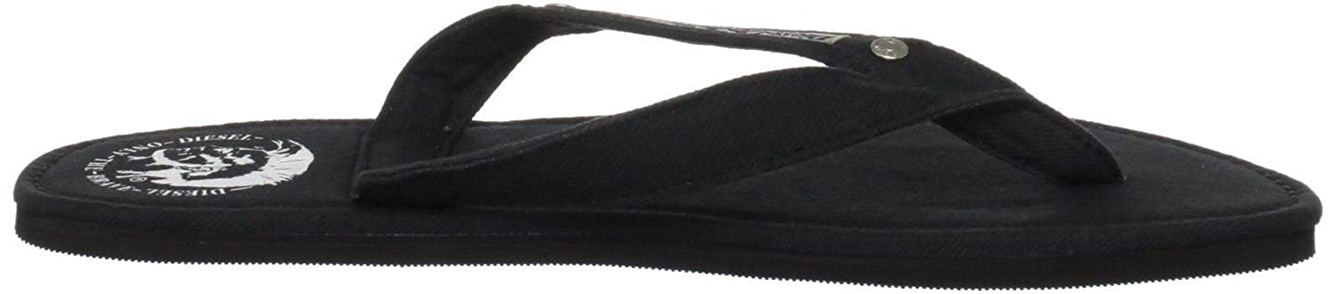 6a437fb7d7f2 Diesel Aqualife Seaside Black Red Mens New Summer Beach Flip Flops-10   Amazon.co.uk  Shoes   Bags