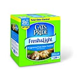 Cat's Pride Fresh and Light Fragrance Free Odor Control Multi-Cat Scoop Cat Litter Box, 21-Pound