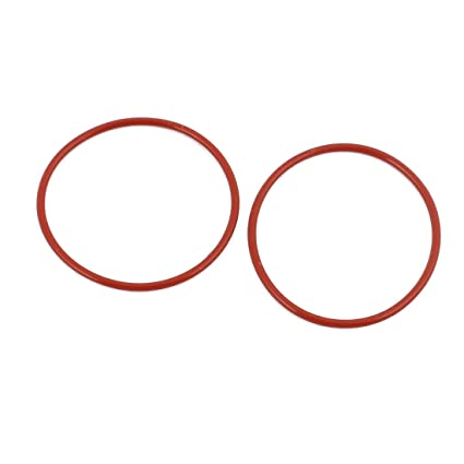 uxcell 15Pcs 35mm x 1.5mm Rubber O-Rings NBR Heat Resistant Sealing Ring Grommets Red