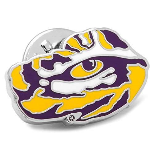 - NCAA LSU Tiger's Eye Lapel Pin, Officially Licensed