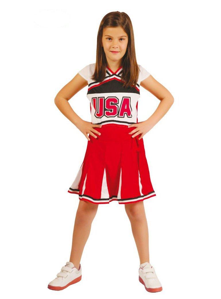 286802371 Disfraz de animadora simpática para niña - 10-12 años: Amazon.es ...