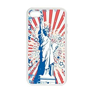American Flag Statue of Liberty Case for iPhone 5 5s case cover