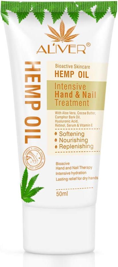 50ml Hermp Seed Oil Hand Cream Moisturizing Anti Cracking