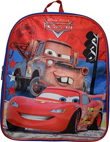 "Price comparison product image Disney Pixar Cars McQueen 12"" Backpack"