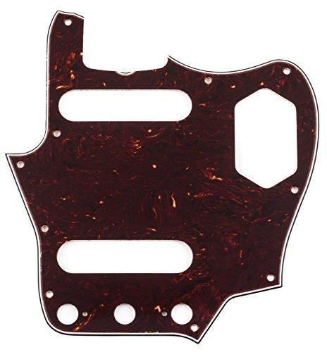(Fender Pure Vintage Pickguard, '65 Jaguar, 10-Hole - Brown Shell 4-Ply)