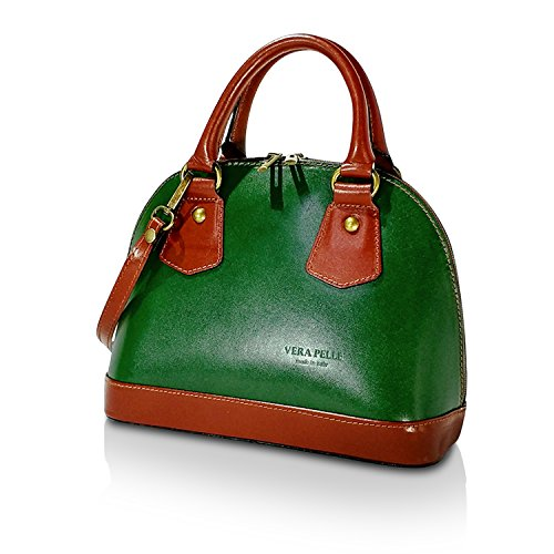 soirée Vert 1 pour 001 2 Italy à in Made Vrai 001 Cuir Sac 1 Glamexx24 femme Sac bandoulière Pochette mariage 6HA0q
