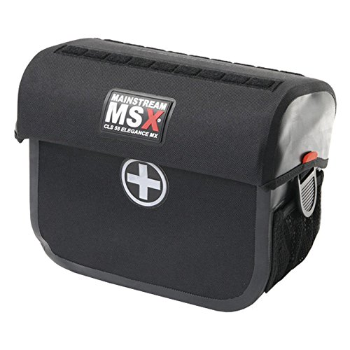 Mainstream-MSX Mainstream MSX CLS 55 Elegance Lenker Tasche Twistlock Fahrrad Wasserdicht 8,8 Liter 9 kg
