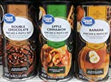 Great Value Pancake & Waffle Mix Variety Pack 16 oz (Pack of 3)