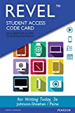 img - for REVEL for Writing Today -- Access Card (3rd Edition) book / textbook / text book