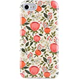 iPhone 7 Case, iPhone 8 Case for Girls, Dimaka Cute Floral Flower Print Pattern Protective Case [Drop Proof]][Full Cover][Retro Design] Case for iPhone 7 and iPhone 8