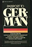 Passport to German, Charles Berlitz, 0451142721
