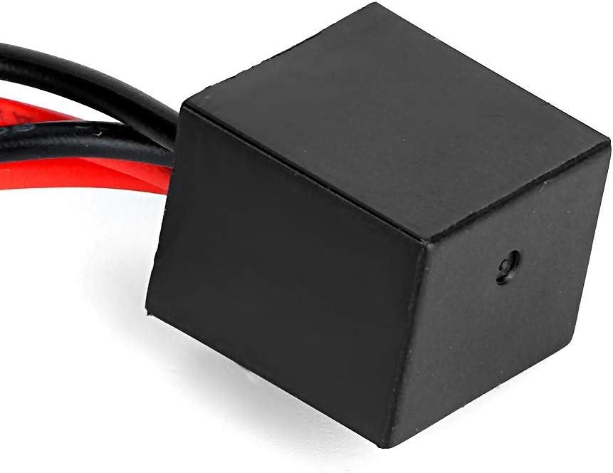 Led Decoder 2 Stück T10 Led Canbus Scheinwerfer Decoder Gerät Anti Flicker Widerstände Error Canceller Auto