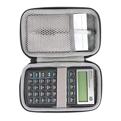 co2crea Hard Travel Case for HP 10bII+ Financial Calculator (NW239AA)