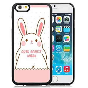 New Personalized Custom Designed For iPhone 6 4.7 Inch TPU Phone Case For Cute Rabbit Queen Phone Case Cover