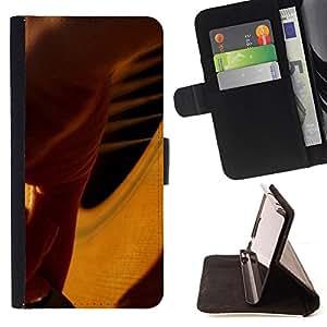 For Sony Xperia Z2 D6502 - Music Piano /Funda de piel cubierta de la carpeta Foilo con cierre magn???¡¯????tico/ - Super Marley Shop -