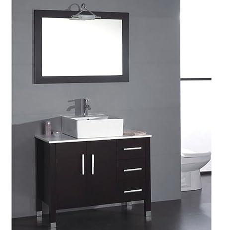 40 inch solid oak - 40 Inch Bathroom Vanity