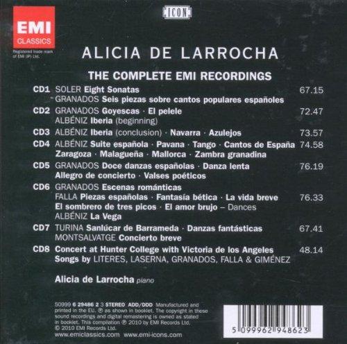Soler, Granados, Albeniz, Turina, Falla: Alicia De Larrocha, Various: Amazon.es: Música