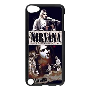 Customize ipod touch 5 5g Case, Nirvana Snap On Cover Protector Plastic For ipod touch 5