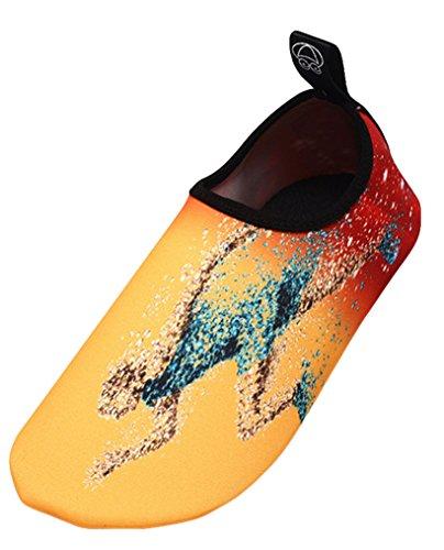 Materiale Donna Ragazzi Bagno Antiscivolo Elastico Leggere da Uomini Cosstars Immersione Spiaggia da Scarpette Scoglio Scarpe Ballo Traspirante Super da Yoga Scarpe Mare HZR6x07