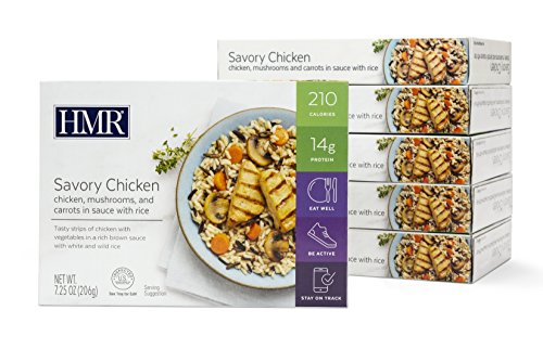 HMR Savory Chicken Entree, 7.25 oz. Servings, 6 Count