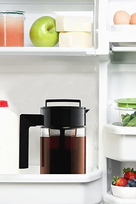rose gold refrigerator amazoncom takeya cold brew iced coffee maker 1 quart black