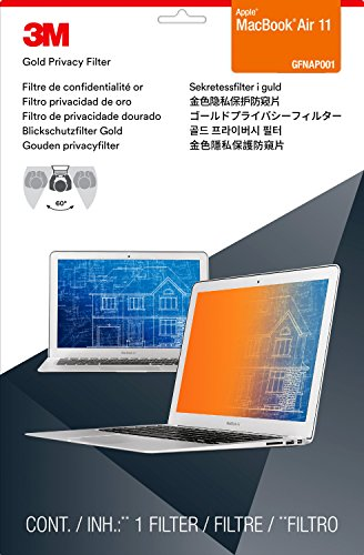 "3M Gold Privacy Filter for 11"" Apple  MacBook Air (GFNAP001)"