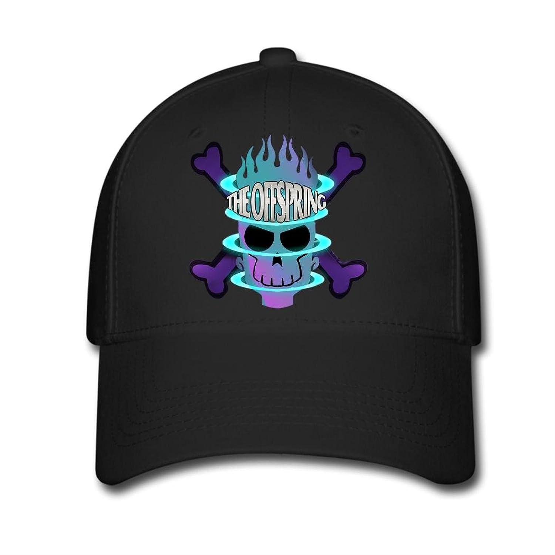 Woman Men Cotton The Offspring Skull And Bones Adjustable hats Baseball caps