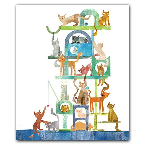 Kitty Cat Condo QuickNotes boxed blank notecards for all occasions