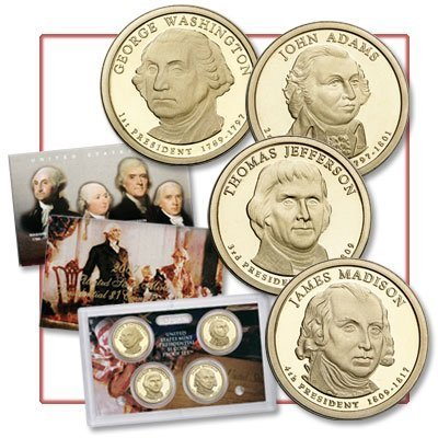 2007-S Presidential US Proof Set in Original US Mint Packaging - Price includes - Us Price