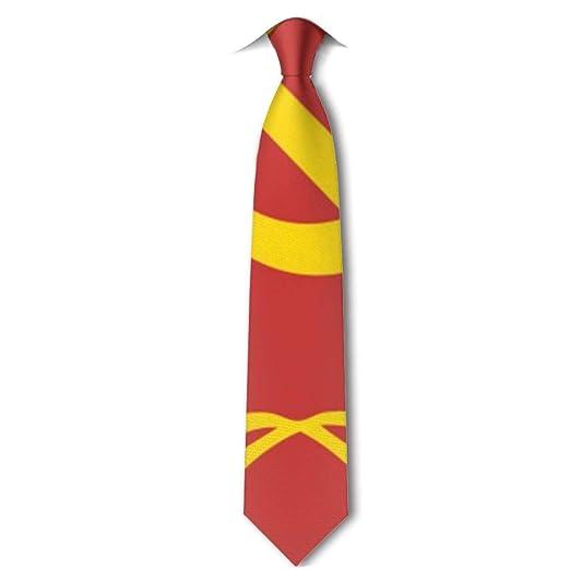 HYUS Unión Soviética CCCP URSS Emblema Corbata roja para hombres ...
