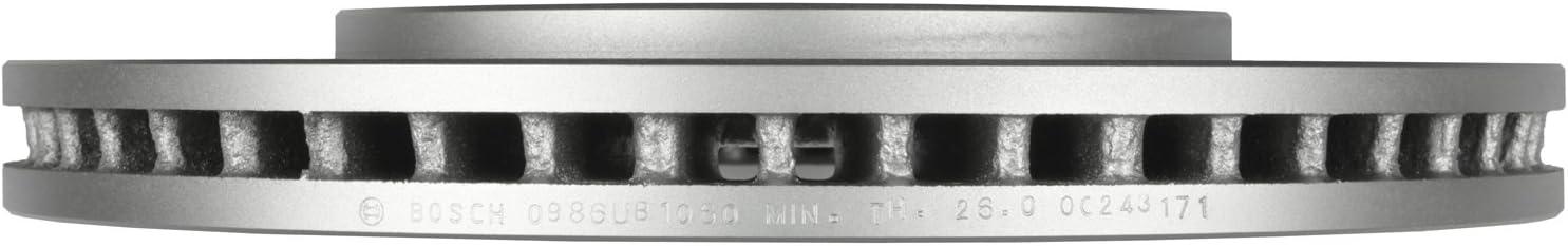 Bosch 40011066 QuietCast Premium Disc Brake Rotor For Nissan 2009-2012 Equator; Front 2005-2011 Frontier 2005-2012 Pathfinder 2005-2015 Xterra; Suzuki