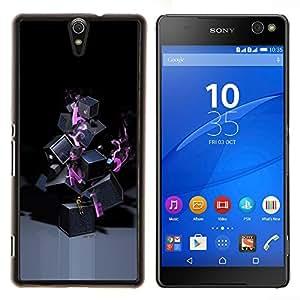 EJOOY---Cubierta de la caja de protección para la piel dura ** Sony Xperia C5 Ultra ** --Resumen de Lonely