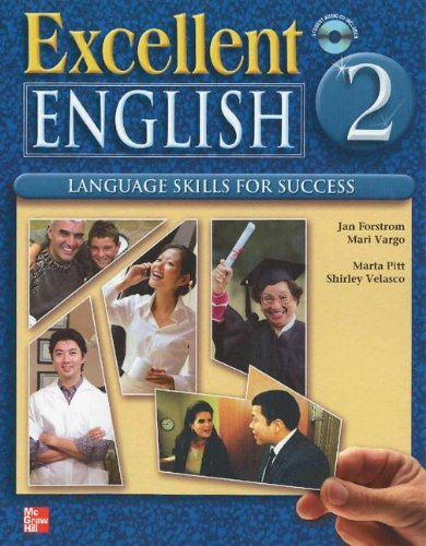Excellent English Level 2 Student Book with Audio Highlights and Workbook with Audio CD Pack Language Skills for Success by Brand: McGraw-Hill
