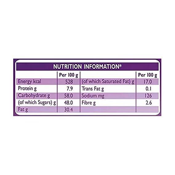 Cadbury Dairy Milk Silk Fruit & Nut Chocolate Bar, 55 g