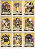 Pittsburgh Steelers 1990 Fleer Football Team Set w/ Update Cards (Buddy Brister) (Rob Woodson) (Barry Foster) (Eric Green) (Hardy Nickerson) (Greg Lloyd) (Merrill Hoge) (Tim Johnson)