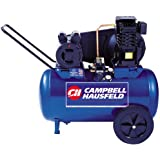 Campbell Hausfeld VT6290 20 Gallon ASME Oil-Lubricated Horizontal Air Compressor