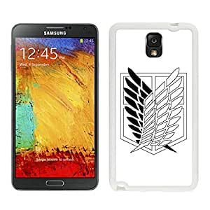 Fashion Designed Shingeki no Kyojin 5 White Samsung Galaxy Note 3 N900A N900V N900P N900T Phone Case
