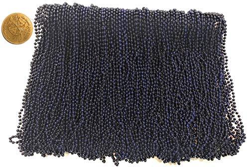 Mardi Gras Beads 33 inch 7mm, 12 Dozen,