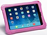 Pwr+ iPad Mini Case-for-Kids (Pink) : Guardian Case Cover for Apple iPad Mini 1, 2, 3 - Kid Friendly Shockproof Light Weight Tablet Case Cover Tab Stand Protective Convertible KickStand Sleeve