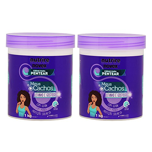 Novex My Curls SUPER CURLY Leave-in Conditioner 35oz ''Pack of 2'' by Novex