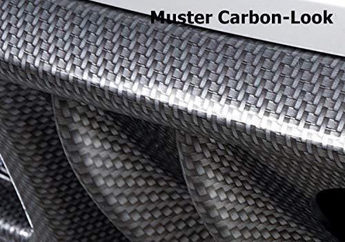 Rieger Heckscheibenblende Carbon-Look f/ür VW Jetta 3 08.05 1KM