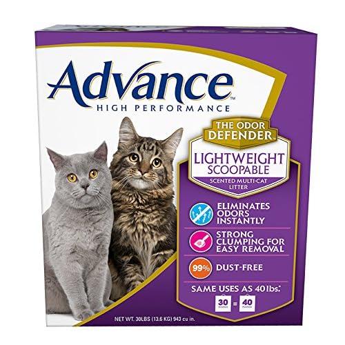 Advance High Performance Scented Lightweight Multi-Cat, Cat Litter