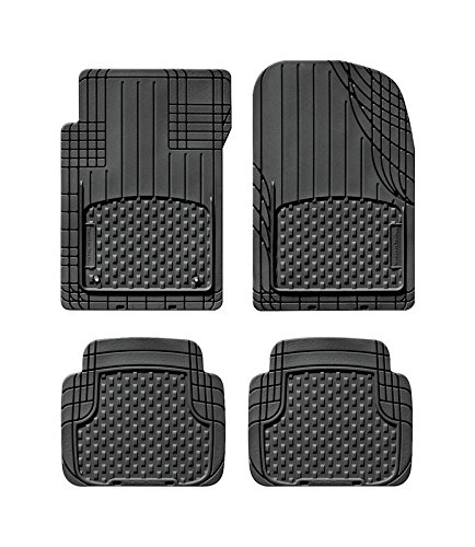 RUBBER FLOOR MAT BLK 4PC by WEATHERTECH MfrPartNo 11AVMSB