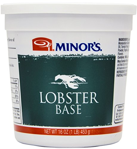 Cook Lobster Bisque (Minor's Lobster Base, 16 Ounce)
