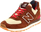 New Balance Men's ML574 Lifestyle Sneaker,Brown/Tan,11.5 D US