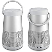 Bose SoundLink Revolve+ Bluetooth Speaker, Lux Gray - Pair for a True Stereo Sound - Bundle
