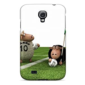 New Cute Funny Sheep Football Case Cover/ Galaxy S4 Case Cover