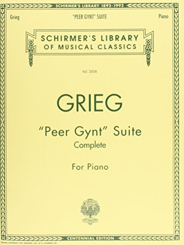 Peer Gynt Suite Piano Centennial Edition