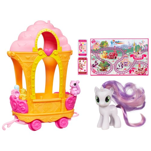My Little Pony Sweetie Belle's Ice Cream Train - Collectible Car Train