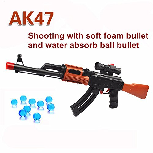 AK 47 Toy Gun 3 Pcs Soft Bullet